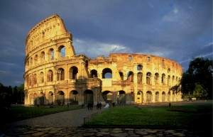 ColosseumAtEvening