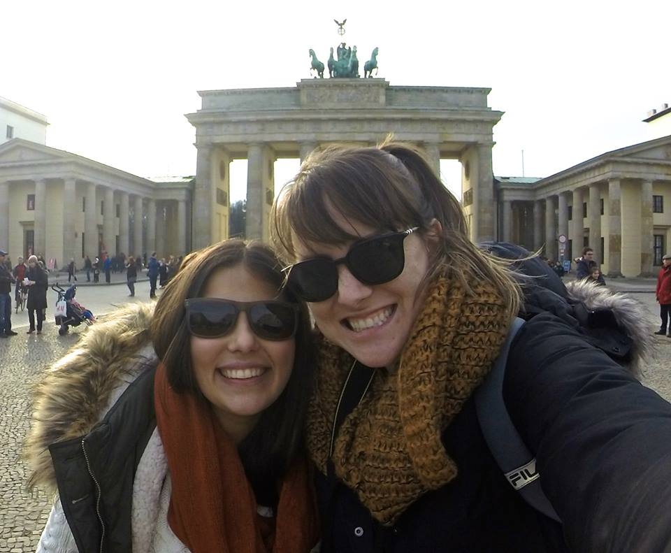 Meu lar atual: Alemanha! Essa viagem foi no comecinho desse ano para Berlin :)