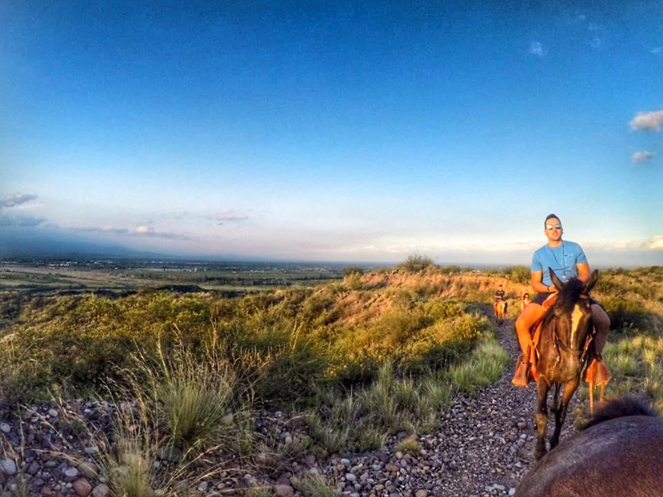 Cavalgada em Mendoza 14